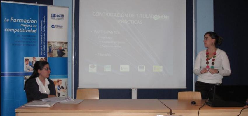 CEOE-CEPYME Guadalajara informa a las empresas de Azuqueca de las ayudas existentes para la contratación de trabajadores