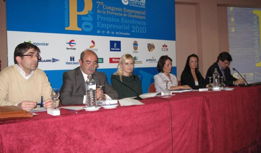 La Prevención de Riesgos centra la segunda Jornada del 7º Congreso Empresarial de CEOE-CEPYME Guadalajara