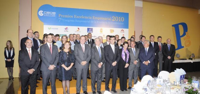 CEOE-CEPYME Guadalajara entrega sus Premios Excelencia Empresarial 2010