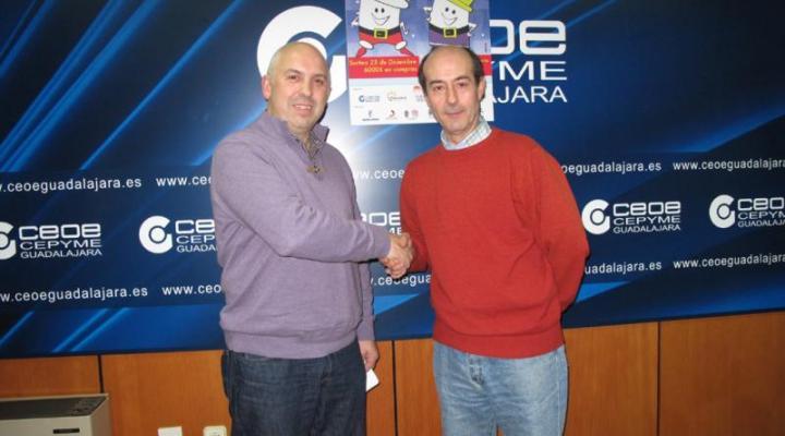 Fernando Bernardo Gimeno, ganador del primer sorteo del doble de navidad de FEDECO