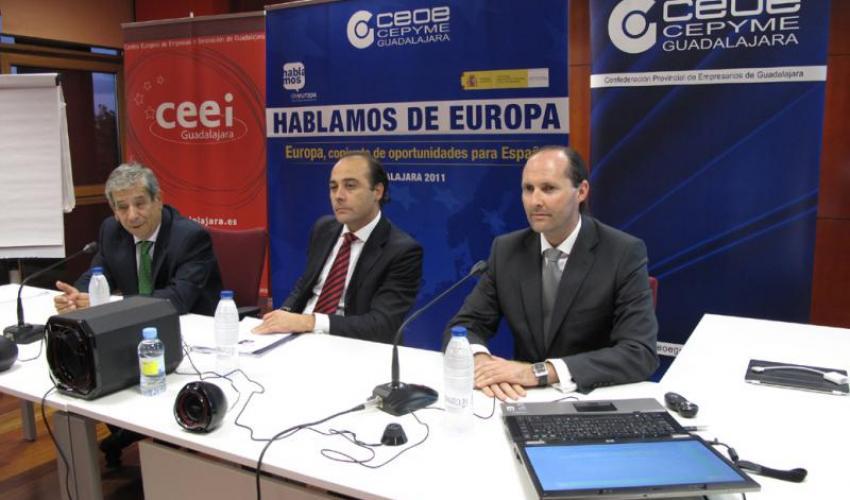 Descubrir los programas y proyectos europeos son una oportunidad para los empresarios alcarreños