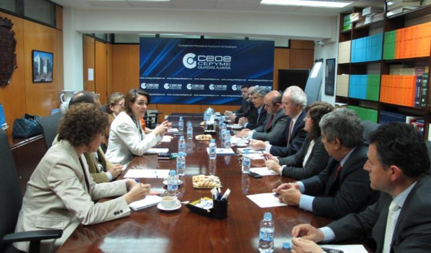 La CEOE plantea a la candidata del PSOE a la alcaldía propuestas para el futuro de la ciudad