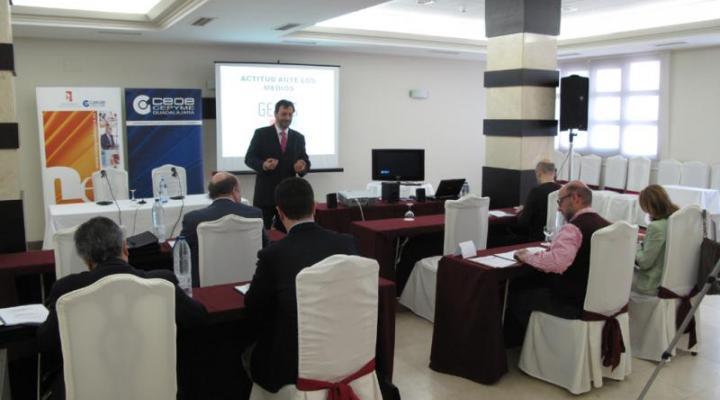 El Centro de Estudios Superiores Empresariales de CEOE-CEPYME Guadalajara enseña a los empresarios cómo hablar ante los medios de comunicación