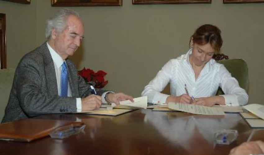 Diputación y CEOE-CEPYME Guadalajara firman un convenio para la promoción del comercio y del tejido empresarial de la provincia