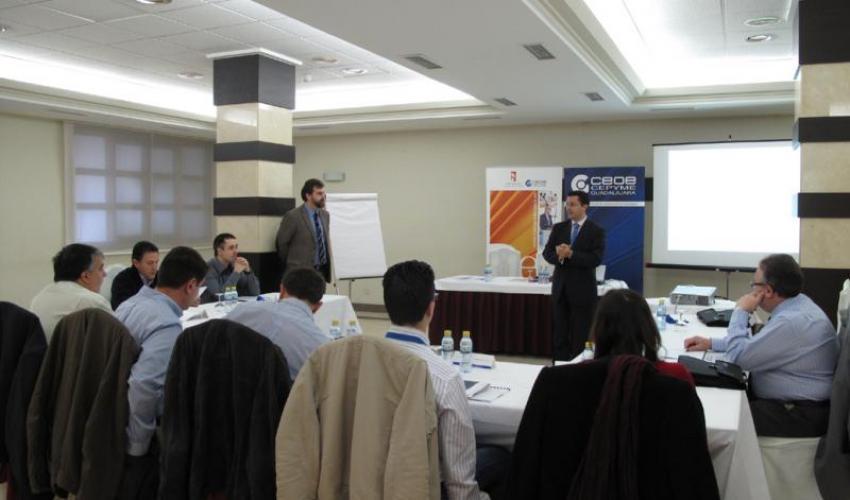La planificación y gestión eficaz del tiempo centra el último curso del centro de estudios superiores empresariales de CEOE-CEPYME Guadalajara