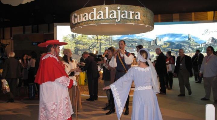 La Federación Provincial de Turismo de Guadalajara de CEOE-CEPYME Guadalajara, presente en la inauguración de FITUR