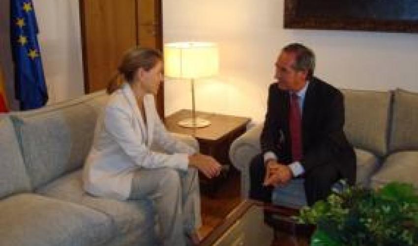 CECAM se reúne con la Presidenta de Castilla-La Mancha