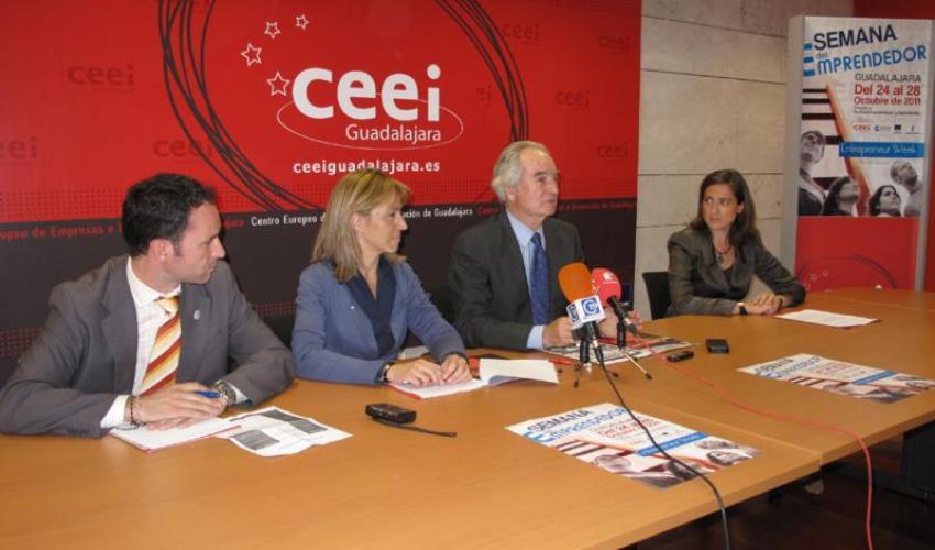 CEEI de Guadalajara presenta la semana del emprendedor en formación profesional y bachillerato