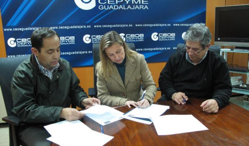 BP renuevan su oferta en el proyecto de Socio a Socio de CEOE-CEPYME Guadalajara
