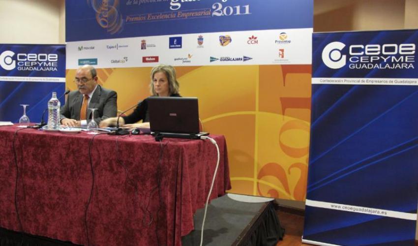 """Los recursos humanos """"crisis, productividad y estrategia de relaciones laborales"""" abre el 8º congreso empresarial de CEOE-CEPYME Guadalajara"""