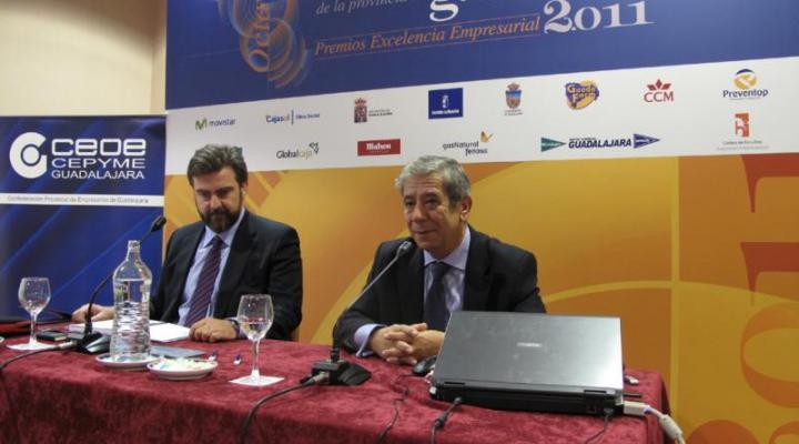 La comunicación interna y el papel del mando intermedio en las empresas alcarreñas en el 8º congreso empresarial de CEOE-CEPYME Guadalajara
