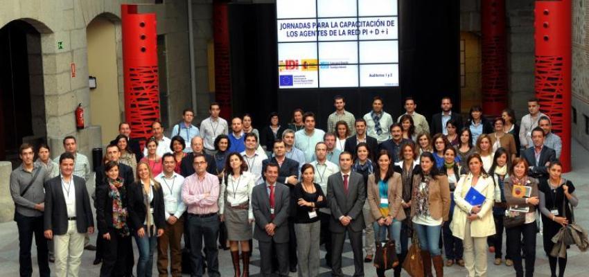 Técnicos de CEOE-CEPYME Guadalajara y del CEEI de Guadalajara asisten a las jornadas de capacitación para agentes de la red PIDI