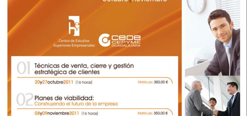 El Centro de Estudios Superiores Empresariales de CEOE-CEPYME Guadalajara presenta su programación para el último semestre del año