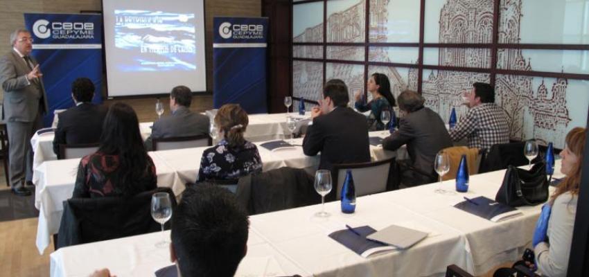 La retribución en tiempo de crisis centra el tercer desayuno de directores de recursos humanos organizado por CEOE-CEPYME Guadalajara