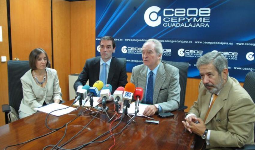 Presentado en Guadalajara Aval Castilla-La Mancha-Sociedad de Garantía Recíproca
