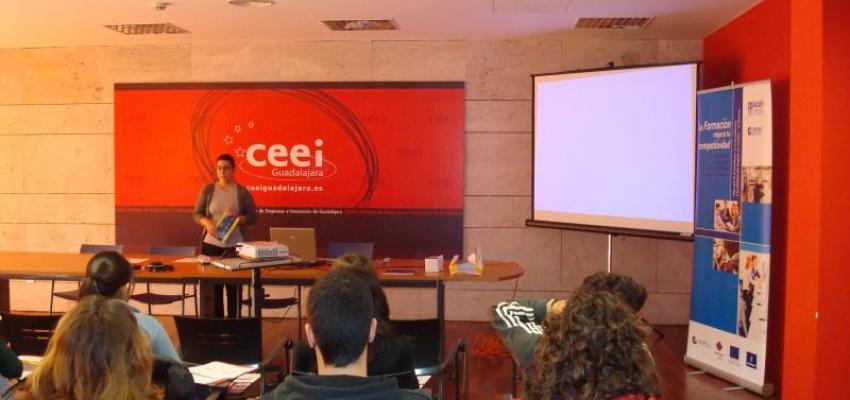 Los técnicos de CEOE-CEPYME Guadalajara informan a los emprendedores de las ayudas del Plan por el Crecimiento, la Consolidación y la Calidad en el empleo de Castilla-La Mancha