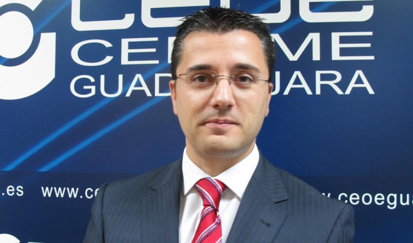Javier Arriola, nuevo secretario general de CEOE-CEPYME Guadalajara
