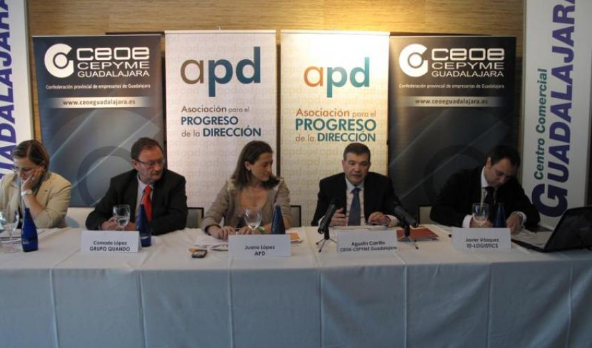 CEOE-CEPYME Guadalajara participa en la jornada de la Asociación para el Progreso de la Dirección