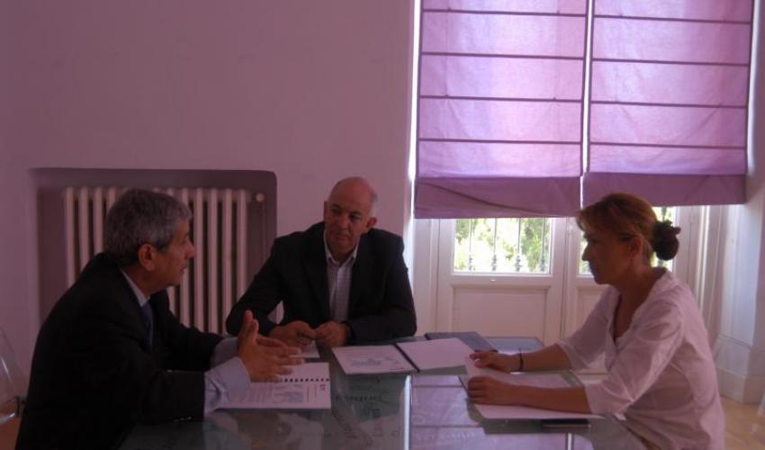 Diputación y CEOE-CEPYME Guadalajara se reúnen para concretar la colaboración entre ambas entidades