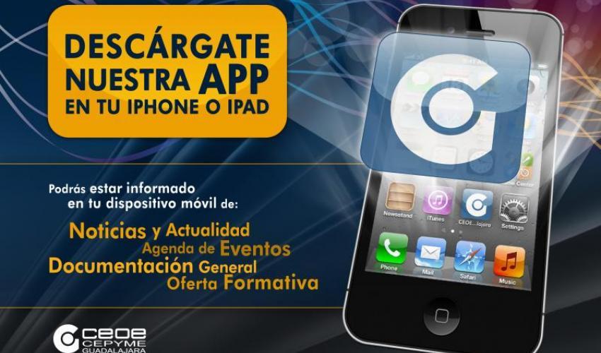 CEOE-CEPYME Guadalajara lanza su APP para IPhone y iPad