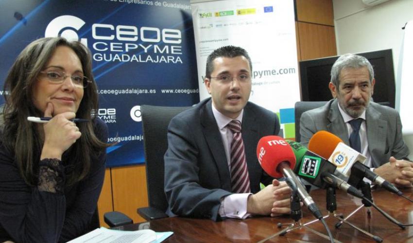 Horizonte XXII, CEOE-CEPYME Guadalajara y el CEEI de Guadalajara presentan la tercera edición de YOQUIEROAMIPYME