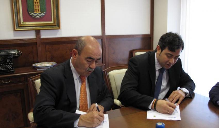 CEOE-CEPYME Guadalajara y el Ayuntamiento de Cabanillas firman varios convenios de colaboración