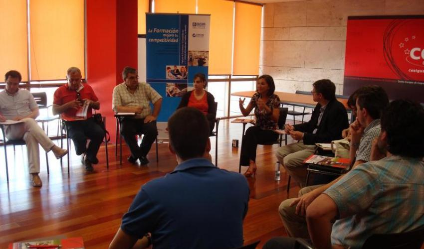 Los emprendedores aprenden RSC en una nueva jornada de emprendedores en el desierto del CEEI de Guadalajara