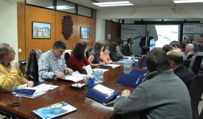 La Prevención de Riesgos Laborales centra una nueva jornada organizada por CEAT Guadalajara junto con Solimat