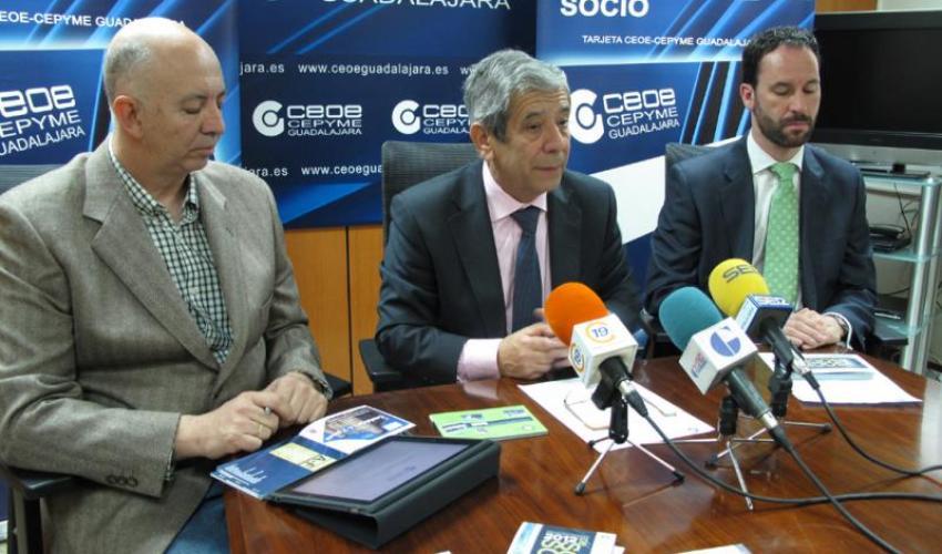 CEOE-CEPYME Guadalajara presenta la quinta edición de la guía de empresas de socio a socio 2012