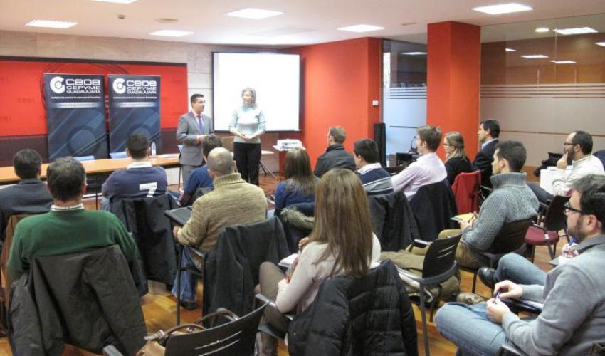 La Gestión de Comunicación y el Marketing centrarán el curso que CEOE-CEPYME Guadalajara desarrollará junto con la plataforma Yoquieroamipyme
