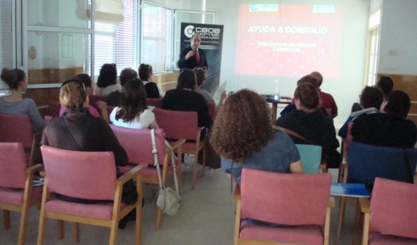 CEOE-CEPYME Guadalajara imparte un nuevo curso dePRL específico para el puesto de trabajo