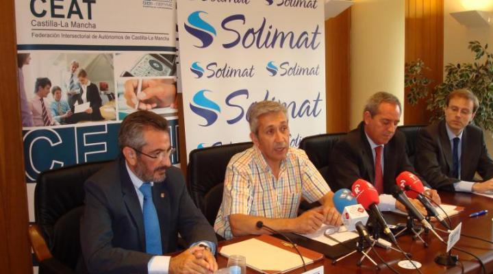 La mutua Solimat y CEAT Castilla-La Mancha firman un Convenio de Colaboración