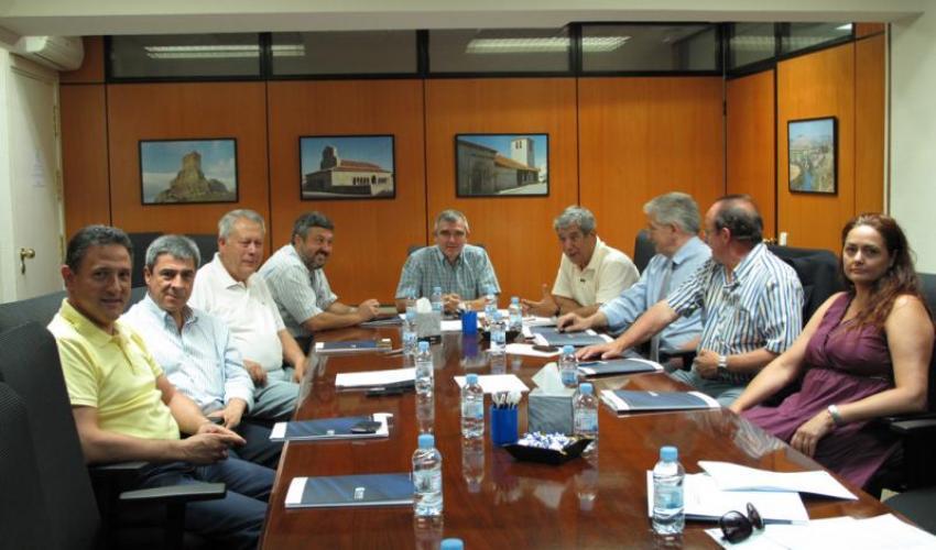 La comisión de Infraestructuras de CEOE-CEPYME Guadalajara se reúne para analizar el estado del corredor ferroviario de la zona central