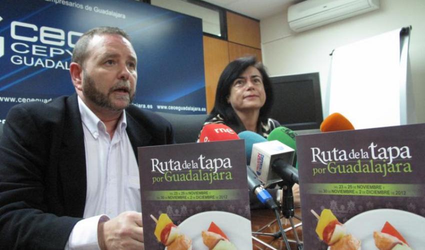 La Federación Provincial de Turismo de Guadalajara presenta una nueva edición de la Ruta de la Tapa