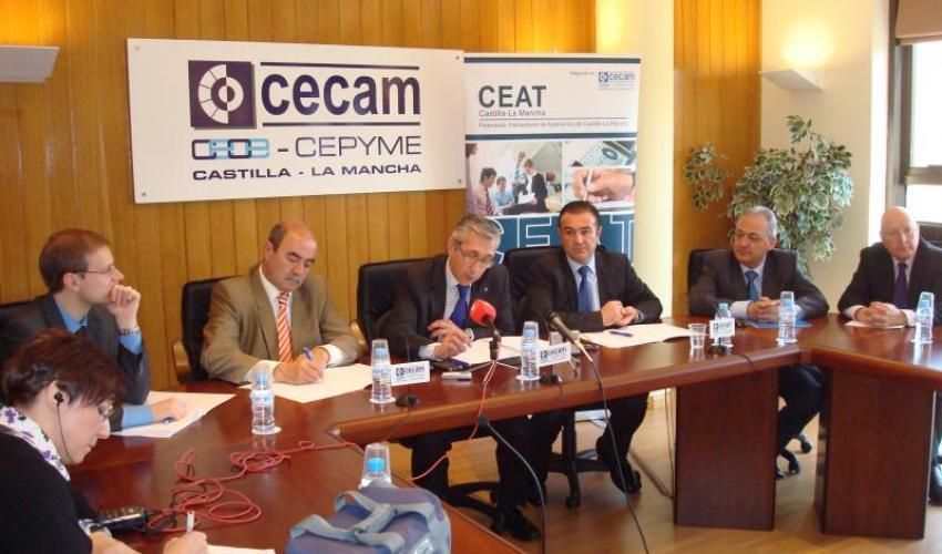 Ángel López Vallejo, nuevo presidente de CEAT C-LM
