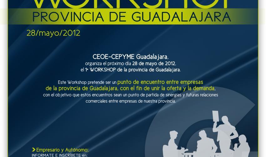 Más de 100 empresas participarán en el primer workshop de la provincia de Guadalajara del próximo 28 de mayo