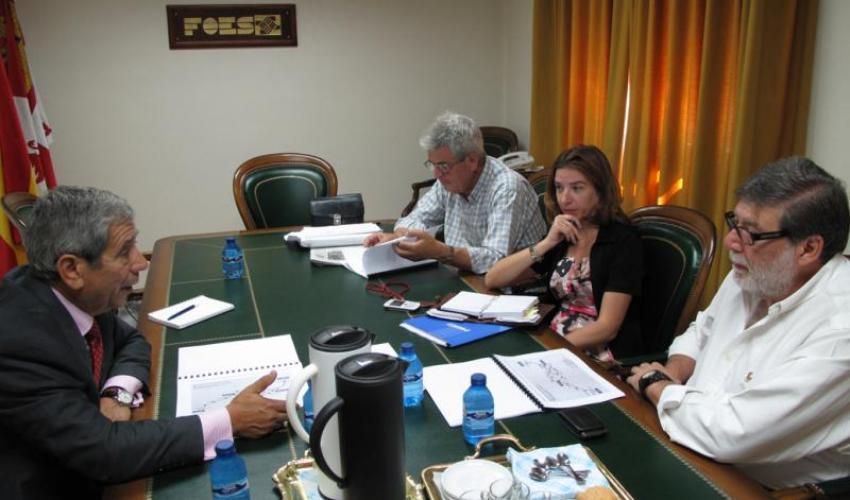 CEOE-CEPYME Guadalajara y la patronal de Soria trabajarán conjuntamente para el desarrollo del corredor del centro