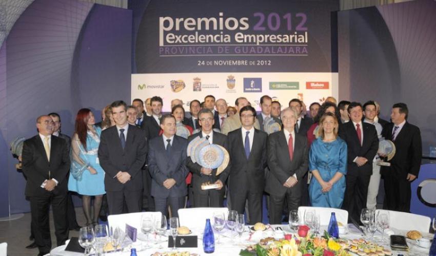 CEOE-CEPYME Guadalajara entrega sus premios Excelencia Empresarial 2012