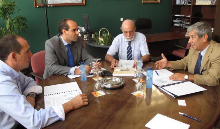 CEOE-CEPYME Guadalajara expone a las patronales de Zaragoza y Aragón una posibilidad inmediata al eje central