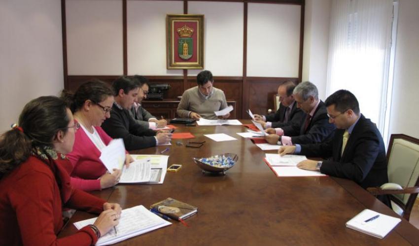 CEOE-CEPYME Guadalajara se reúne con el alcalde de Cabanillas