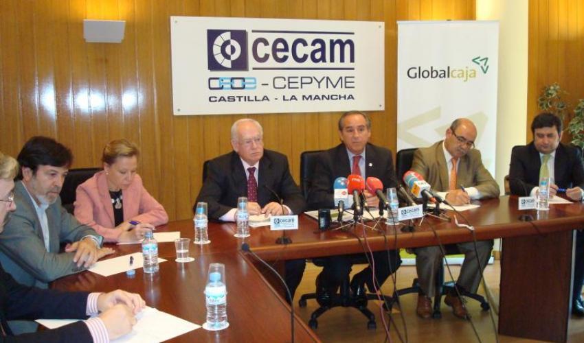 CECAM firma un convenio de colaboración en materia financiera con Globalcaja