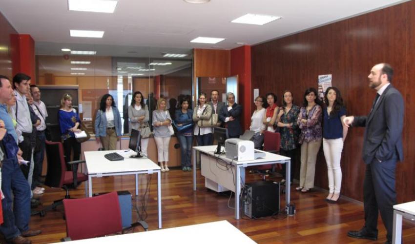 Los profesores de formación en orientación laboral (FOL) conocen los servicios que ofrece el CEEI de Guadalajara