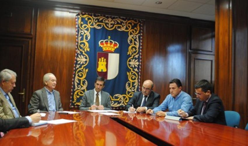 El Comité de Dirección de CEOE-CEPYME Guadalajara se reune con el delegado de la Junta de Comunidades de CLM en Guadalajara