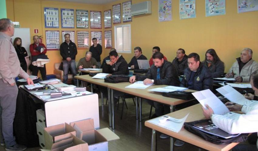 Gestión comercial en inglés y dos nuevos cursos de operador de carretillas, dan comienzo a la formación  de CEOE-CEPYME Guadalajara para 2013