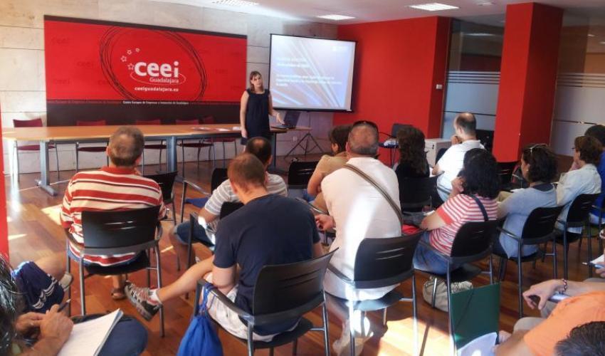 El CEEI de Guadalajara organiza dos nuevas jornadas para los alumnos de los talleres de empleo del Ayuntamiento de Guadalajara