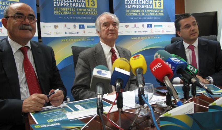 Agustín de Grandes presenta el 10º Congreso Empresarial y los Premios Excelencia empresarial 2013