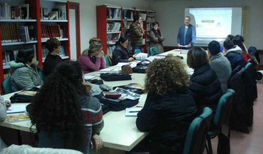 CEOE-CEPYME Guadalajara y el ayuntamiento de Jadraque, clausuran el curso de empleado de información al cliente