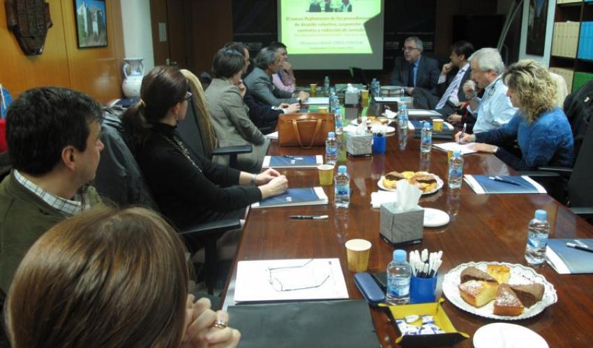 Tercer desayuno de trabajo de CEOE-CEPYME Guadalajara con los directores de recursos humanos del ciclo de 2013