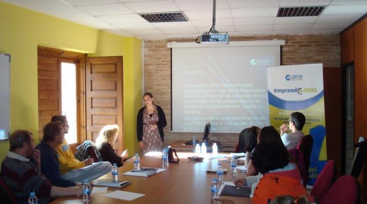 La financiación y las ayudas a la contratación centran una nueva jornada informativa de Emprende+más desarrollada en Sigüenza