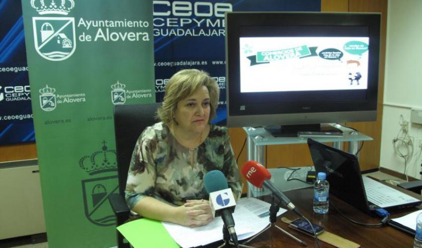 Operativa la nueva web de los comercios de Alovera.